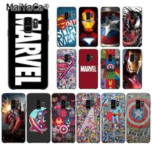 MaiYaCa Deadpool iron Man Marvel Avengers Star Wars Phone Case for Samsung Galaxy S6 S7 edge S6 S10Plus S10lite S10E S9 Plus(China)