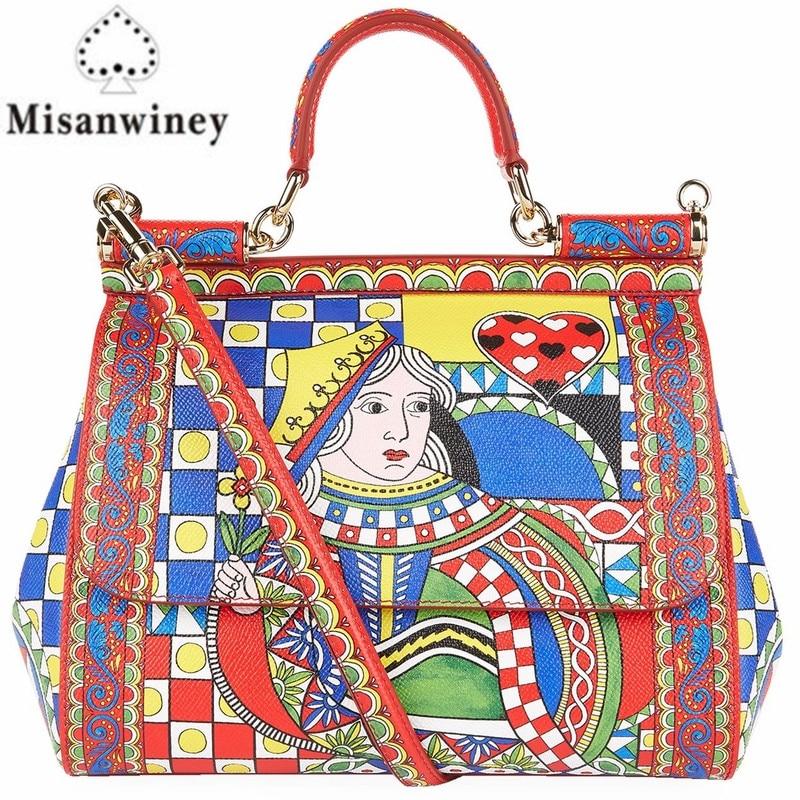 New Leather women handbag women brand bag high quality Free Shipping