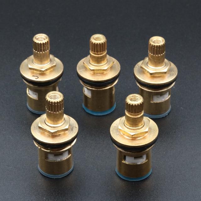5pcs Brass Ceramic Cartridge Faucet Valve Core Home Kitchen Faucet