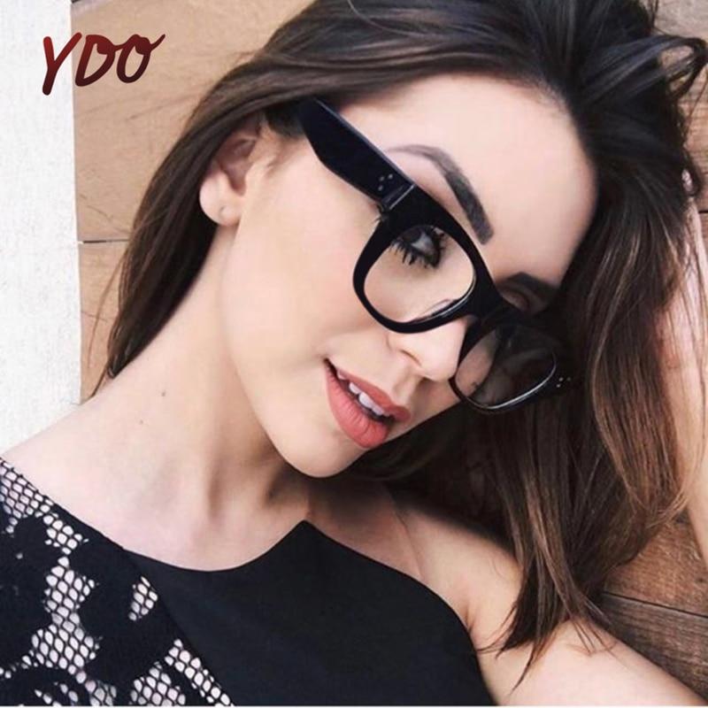 YDO novi pregleden okvir očala ženske 2018 moda jasno objektiv - Oblačilni dodatki
