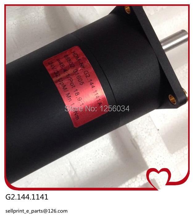 2 pieces heidelberg motor G2.144.1141A, heidelberg printing machinery parts motor