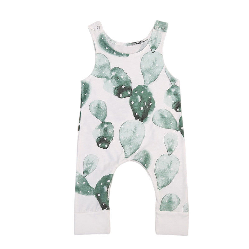 pudcoco Baby Girl Boy Cactus   Romper   Jumpsuit Outfit Playsuit Clothing