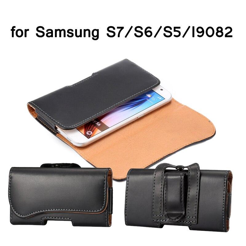 Bolsa Clip de cinturón para Samsung Galaxy S7/S6/S5/Bolsa Hombres Imán Funda de