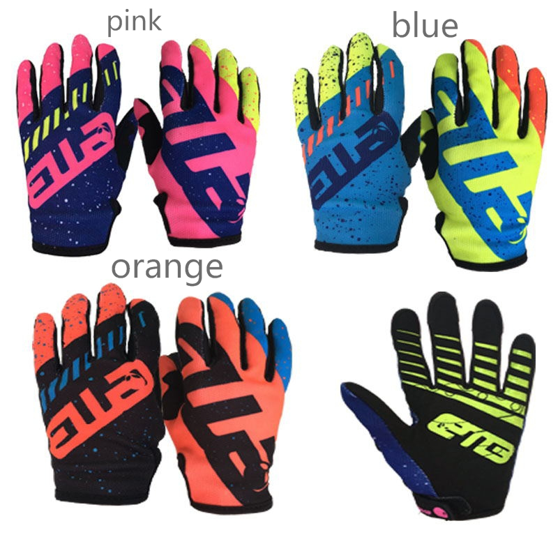 bmx racing mountain bike off road riding Scooter roller skates children ATV MTB downhill guantes protection motorcycles gloves.
