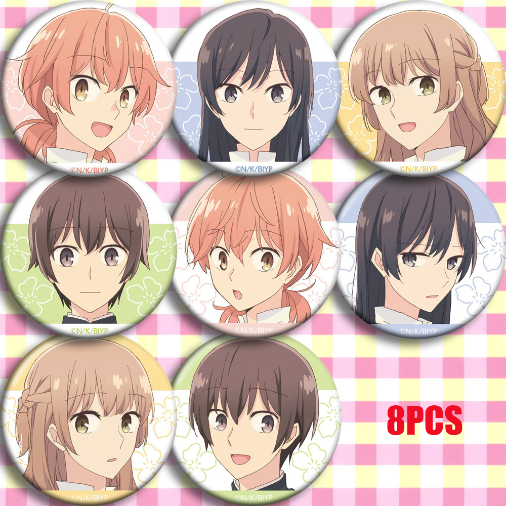 Anime Eventually, I Will Become Yours Bloom Into You Yuu Koito Cosplay Bedge Collect Bags Badge For Backpack Button Brooch Pin
