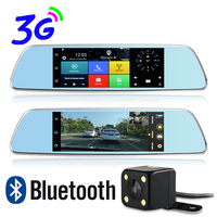 Otstrive 7 Inch Bluetooth WiFi 3G SIM Card Car GPS Navigation Full HD 1080P Dual Lens