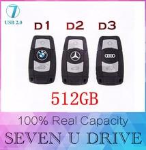 USB flash drive 512 GB pen drive 128 GB pendrive toutes sortes de voiture touches 8 GB 16 GB 32 GB 64 GB carte mémoire u bâton vente chaude top qualité