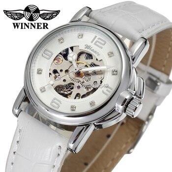 승자 여성 시계 최신 디자인 시계 레이디 최고 품질의 시계 공장 쇼핑 패션 손목 시계 색상 흰색 wrl8011m3s10