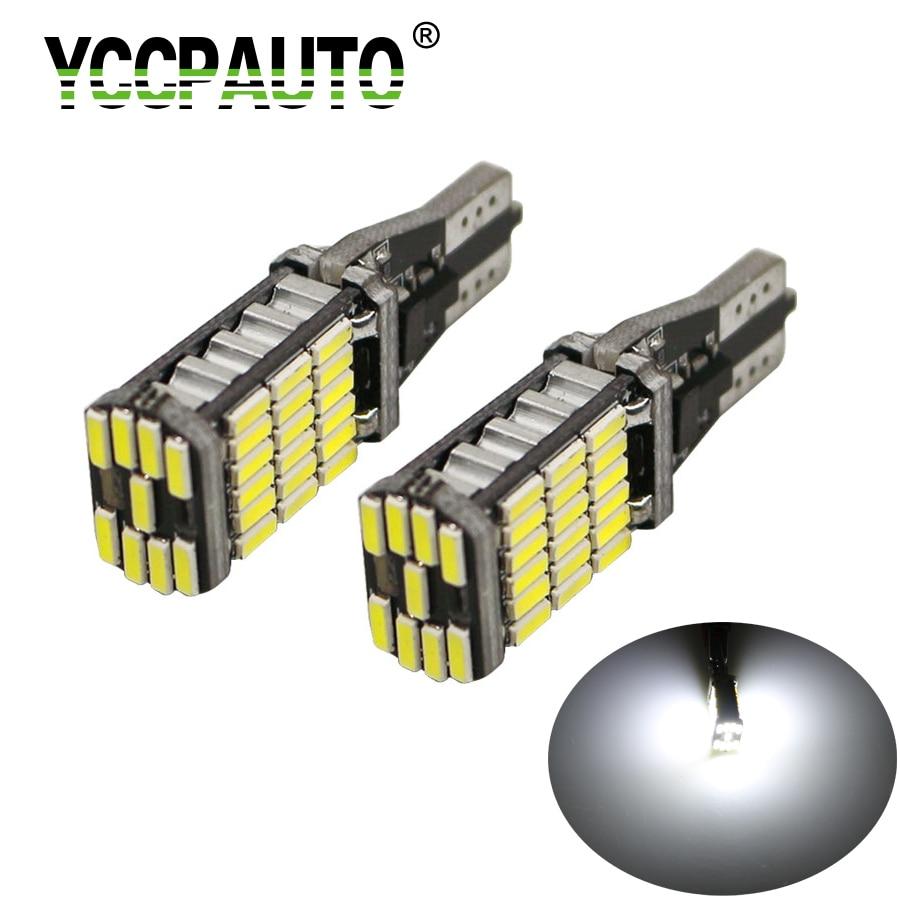 1pc T15 W16W 45 SMD4014 LED Car Reverse Turn Signal Braking Light Bulb *DC