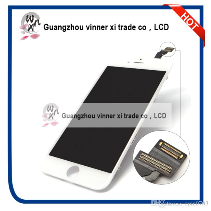 Grade AAA 4.7 Inch Replacement Screen Lcd For Iphone 6 Display With Digitizer Touch Screen Assembly White Black Lcd For Iphone 6 grade a replacement lcd glass screen ecran touch display digitizer assembly for oppo r9 plus 6 0 inch white with free tool kit