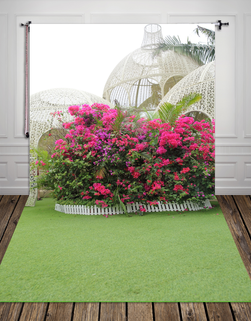 Phuket Island flower printed backdrops for photo studio Digital printing outdoor background for photography XT 3417
