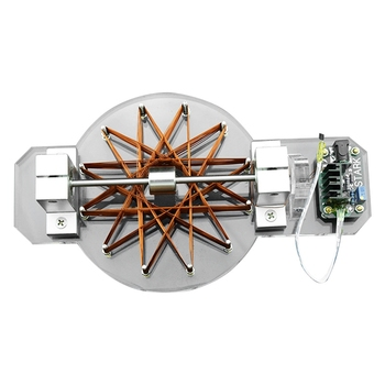 Hall Motor,Brushless Motor,High Speed Motor Motor Module,With Power Educational Model Gift Us Plug