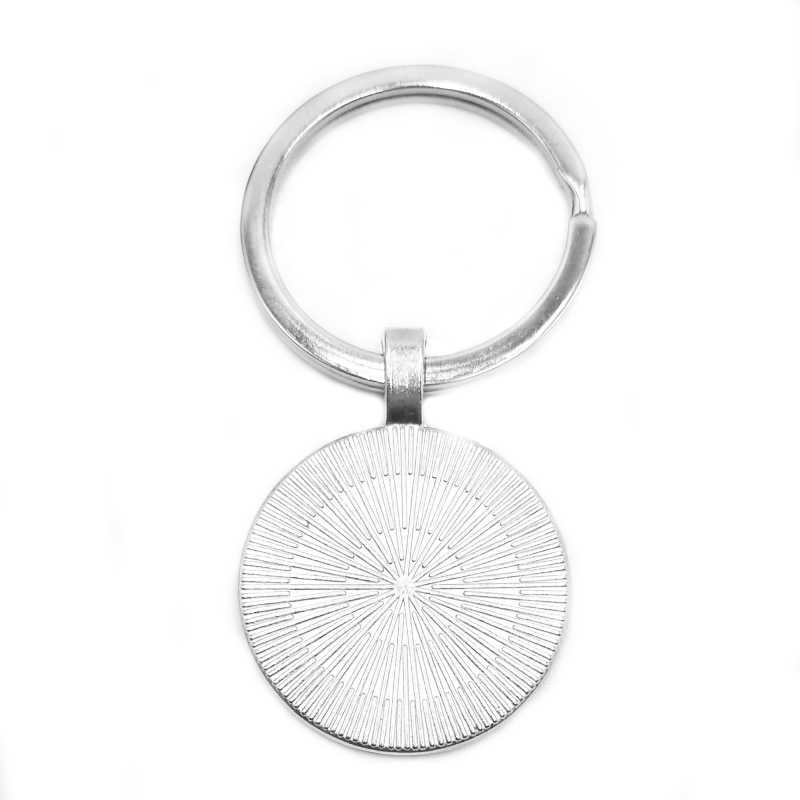 2019 / New Loki God's Mischievous Silver Pendant Glass Cabin Keychain Pendant Keyring Vintage Ornaments Jewelry