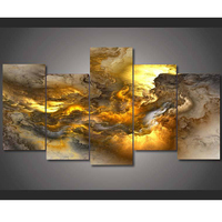 Abstract Fantasy Home Decoration 5d Diy Diamond Painting 5 Pcs Resin Square Drill Full Diamond Embroidery