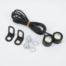 2 шт 120LM moto rcycle белый Светодиодный прожектор фара противотуманная фара лампа 21,5*20*47 мм аксессуары для мотоциклов Запчасти