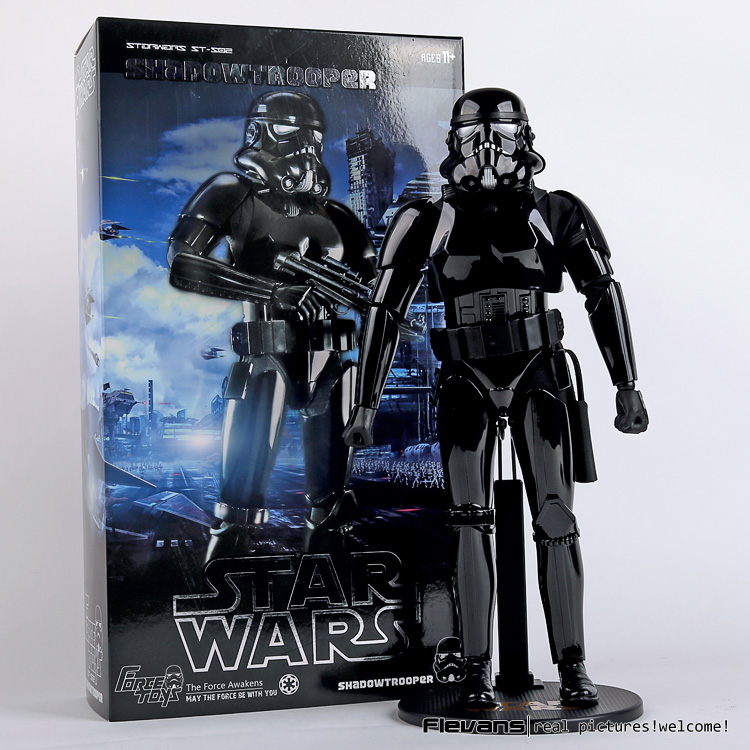 """ФОТО force toys star wars shadowtrooper pvc action figure collectible model toy 12"""" 30cm"""