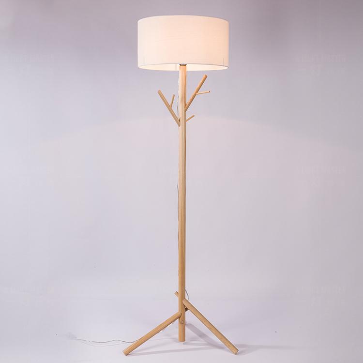 Stehlampe Nordic Wohnzimmer Studie Schlafzimmer Nachttischlampen Dekoration Massivholz Ste Unten Tischlampe ZL18 Licht Ya73