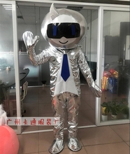 Extraterrestrial Alien Mascot Costume Halloween Christmas Carnival Fancy Costume Cosplay Mascotte Apparel туфли mascotte mascotte ma702awsjm04