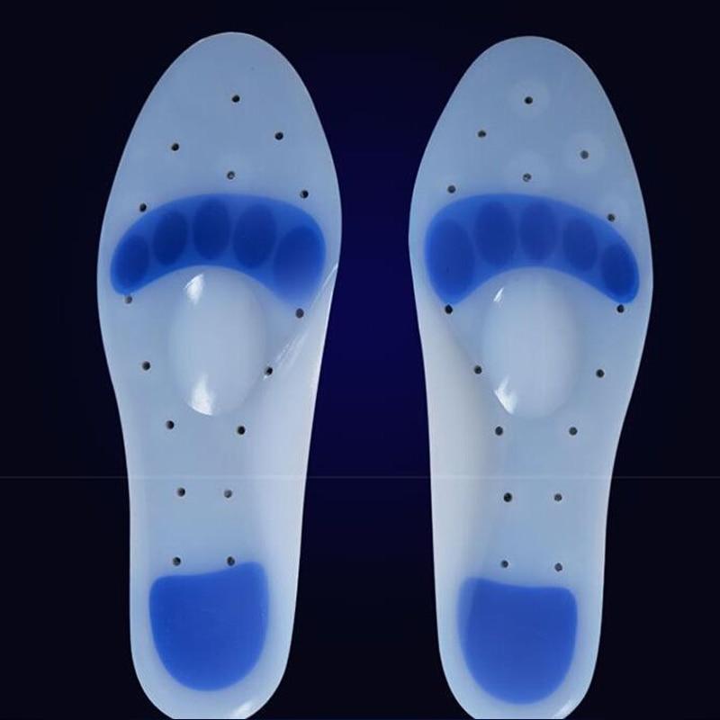 1 Pair Silicon Gel Heel Cushion Sol Sol Meringankan Nyeri Pelindung - Aksesoris sepatu - Foto 3
