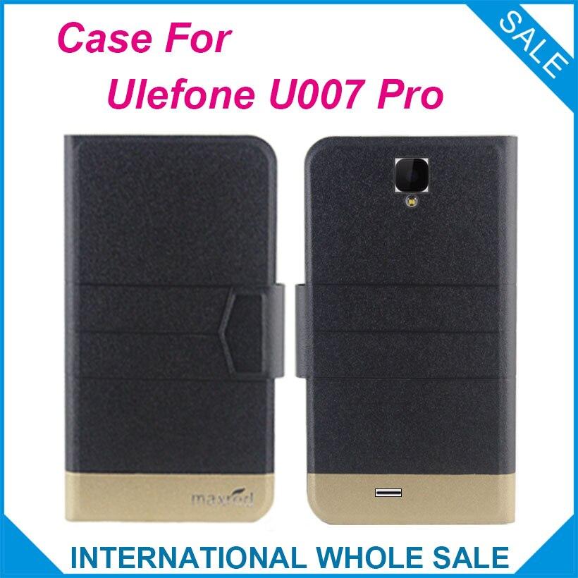 5 barev Super! Ulefone U007 Pro Pouzdro Fashion Business Magnetická spona, Vysoce kvalitní Kožené Exkluzivní Pouzdro pro Ulefone U007 Pro
