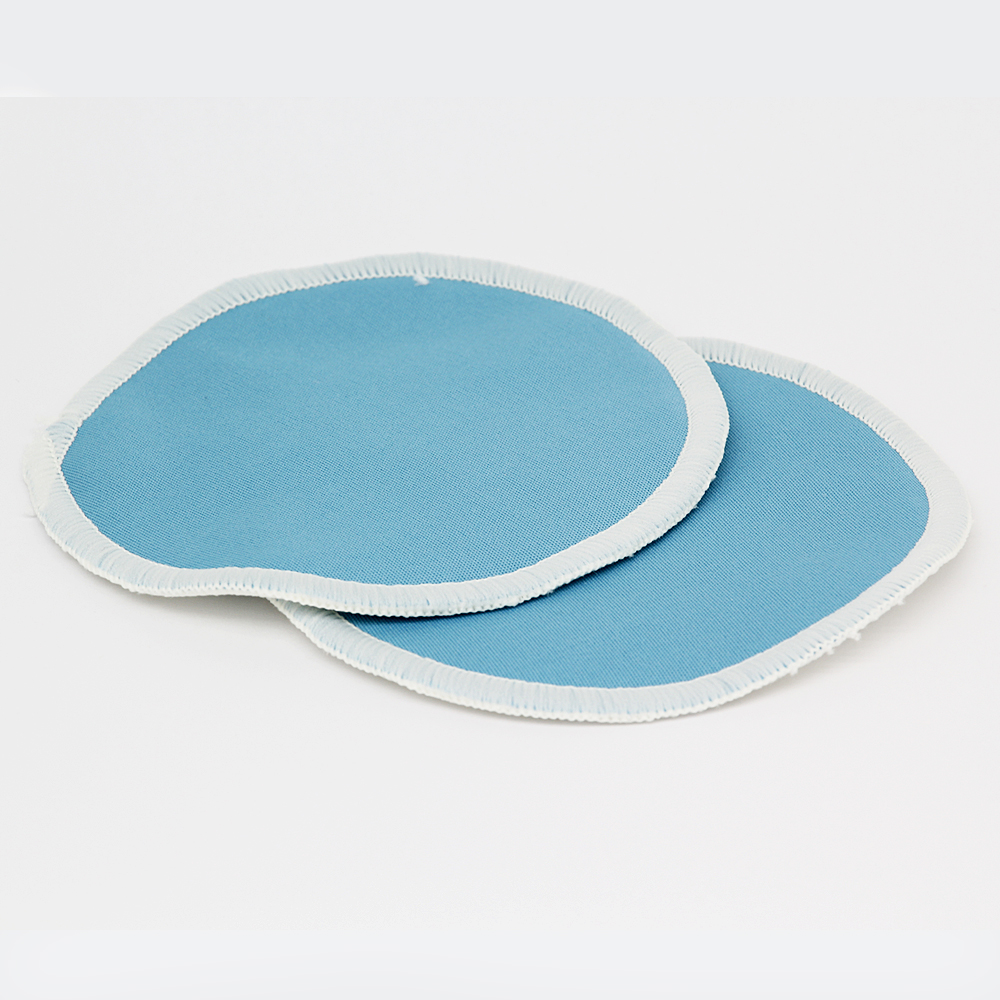 10PC Organic Bamboo Breast Pad Nursing Pads Solid Color For Mum Waterproof Washable Feeding Pad Bamboo Stay Reusable Breast Pad - 4