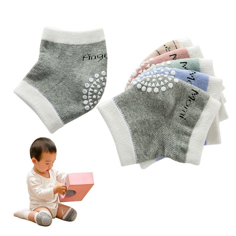 1 Pair Baby Kid Knee Pads Leg Warmers Protector Anti Slip Crawling Accessory Baby Knees Protector Warmer Baby Crawling Protector
