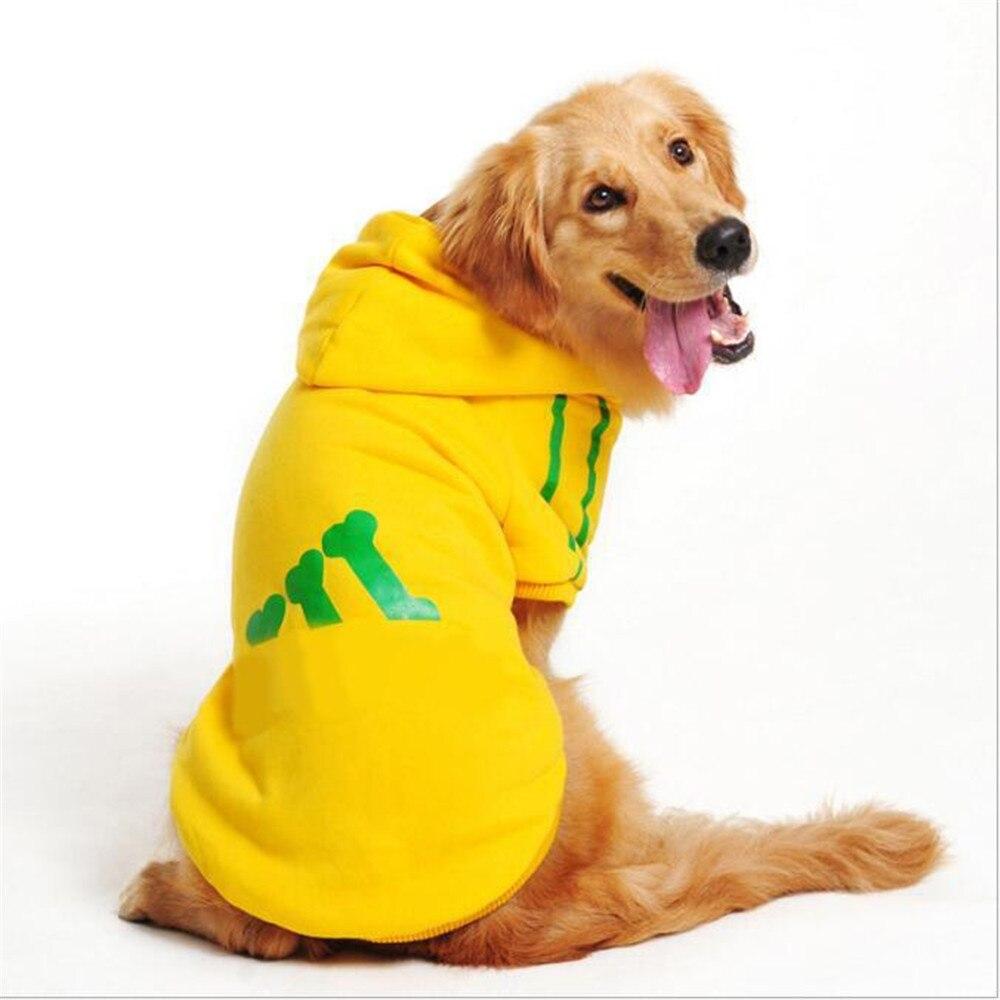 Plus Size Large Dog Clothes Autumn/Winter Warm Soft Dog ...