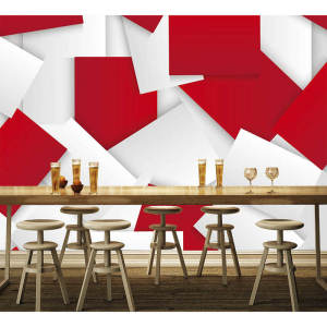 3D Wallpaper Custom Any White Red Bedroom Photo Wall Paper Size Mural