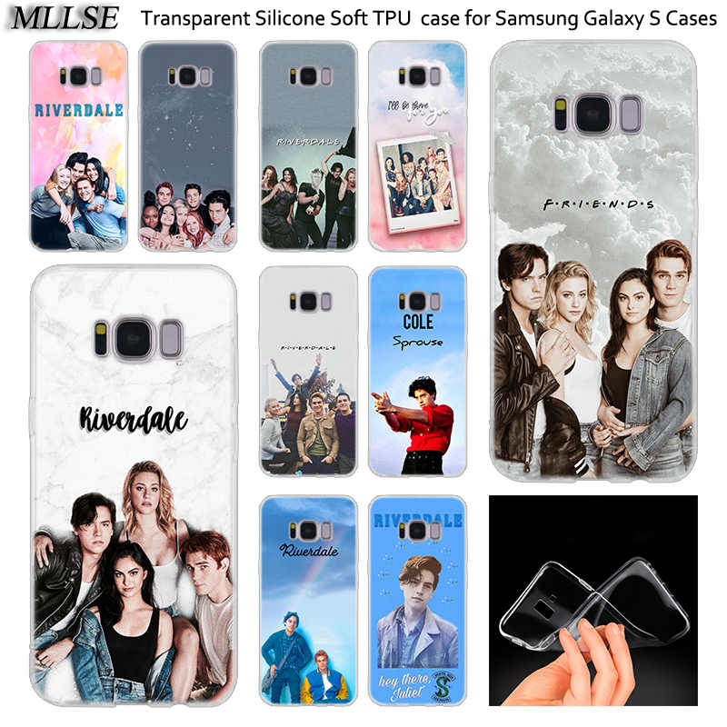 Hot Riverdale South Side Serpents Silicone Case For Samsung Galaxy Note 10 Plus S8 S9 S10 Plus 5G S6 S7 Edge S5 S10e Cover