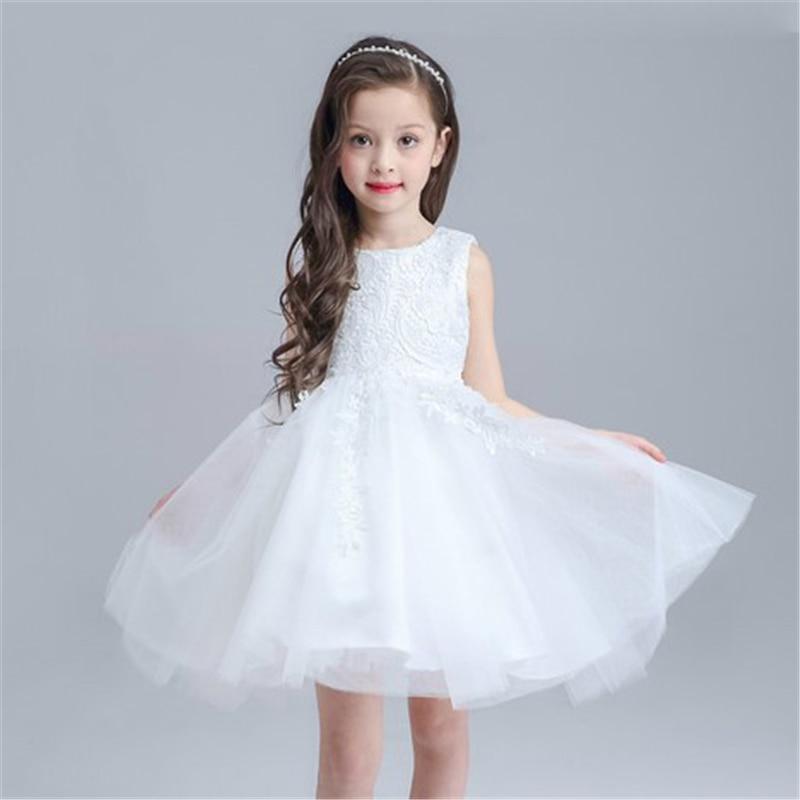 0-24 Μήνες Baby κορίτσια λευκό φόρεμα - Παιδικά ενδύματα - Φωτογραφία 4