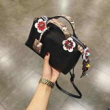 3D blume boston tasche dame handtasche damenmode crossbody bunte niet einzelnen schulter tasche elegante tote messenger bags