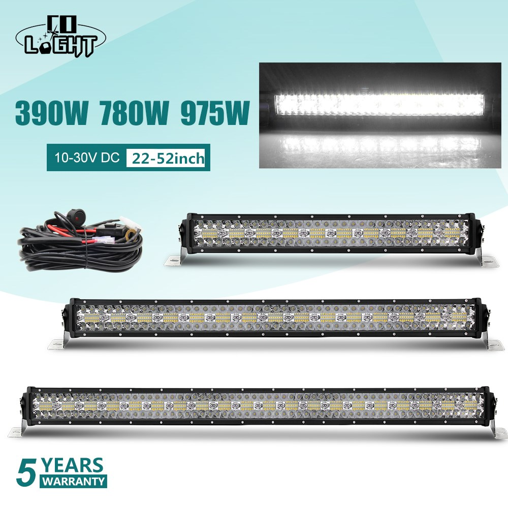 CO LIGHT 12D LED Light Bar 390W 585W 780W 936W 975W 4x4 Offroad Led Bar Combo Beam Led Work Light Bar for Trucks SUV ATV 12V 24V-in Light Bar/Work Light from Automobiles & Motorcycles