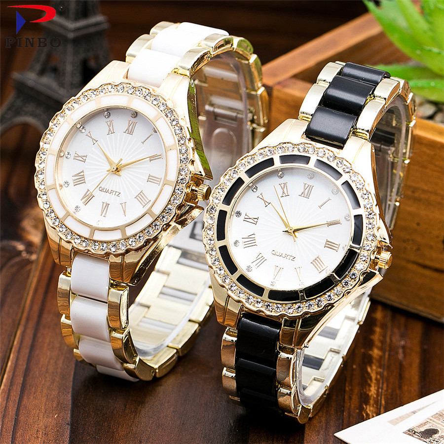 2017 New Luxury Brand Women's Quartz Watch Date Day Clock Stainless Steel Watch Ladies Fashion Casual Watch Women Wrist Watches new forcummins insite date unlock proramm