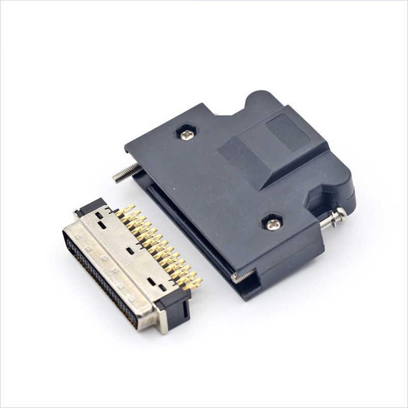 10 piezas SCSI MDR conector 500 V CN1 Servo macho 14Pin 20Pin 26Pin 36Pin 50 pin PBT 3 M 10150-3000PE /10350-52A0-008 conectores