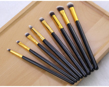 8Pcs Professional Eyeshadow Brush Womens Fashion Brushes Eyebrow Makeup Sets Tool 8PCS Wooden