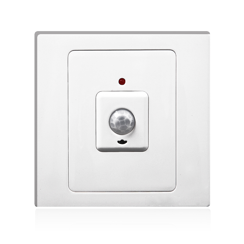 Intelligent sensor switch light delay time adjustable infrared switch 86 220v brt-300c touch on off switches the intelligent control induction time delay switch panel led light intelligent protection lzx