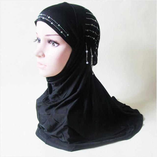 Nueva moda musulmana bandanas musulmanes viscosa bufanda Musulmán hijab bufanda Islámica Musulmán pañuelo envío gratis