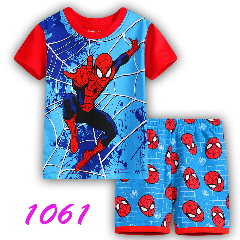 2466c80e80 summer Children s clothing sets Fashion cartoon printing Baby girl ...