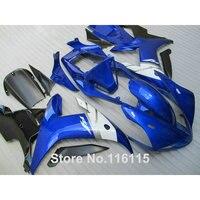 Fairing kit for YAMAHA R1 2002 2003 black white blue fairings Injection molding YZF R1 02 03 full set body kits YZ22