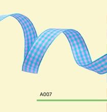 1-1/2″ inch 38mm tartan plaid ribbon