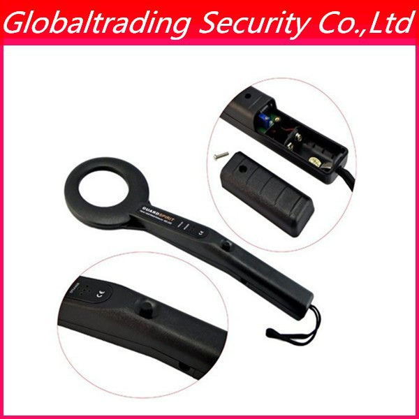 Free shipping High-sensitivity Handheld Metal Detector MD200 With Sound & Light & Vibration Alarming Detects