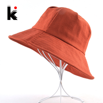 Corduroy Sun Hat For Women Solid Casual Beach Cap Lady Wide Brim Floppy Beach Gorras Outdoor Foldable Visor Bucket Caps Female 1