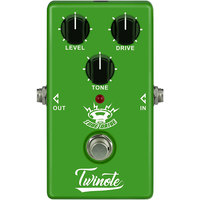 Twinote TUBE DRIVE Guitar Effect Pedal Analog Overdrive Guitar Pedal Processsor Full Metal Shell with True Bypass
