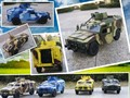 Кэндис го сплава модели автомобиля колесница бронированный нежный тяжелый Военный автомобиль творческий акустооптического вытяните назад игра подарок на день рождения