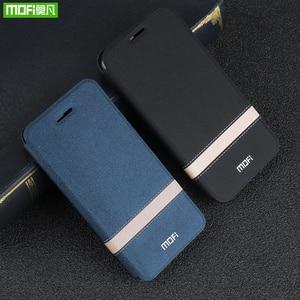 Image 5 - Pour Honor V30 étui Huawei V30 Pro couverture pour V30Pro boîtier MOFi Silicone TPU PU cuir livre support Folio