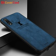 Christmas Case for Huawei P20 Lite Cases Huawei P20 Bat Case Silicone Edge Fabric Protect Coque Huawei P20 Pro Back Cover Bag(China)