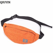 QIUYIN High Quality Belt Bags Women belts Bag Waist bag Fashion Waterproof Chest Handbag Unisex Fann Pack Belly Purse