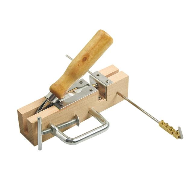 رائجة البيع مجموعة من معدات تربية النحل الجديدة الإطار الثقوب آلة الناخس لأمشاط النحل وإطارات أداة للمناحل