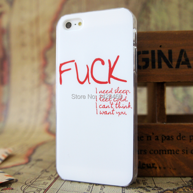 New Quirky Quote Funny Joke Viniage Hard Case Cover For Apple Iphone 5 5s 5g On Aliexpress