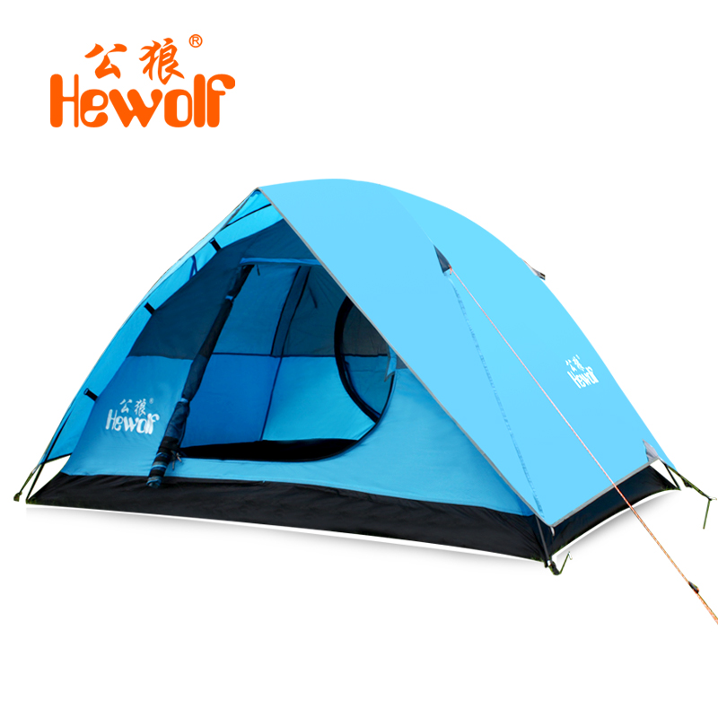 C&ing tent 2 person outdoor waterproof c&ing tent double layer instant c&ing tent easy to carry tent 2.95 KGS-in Tents from Sports u0026 Entertainment on ...  sc 1 st  AliExpress.com & Camping tent 2 person outdoor waterproof camping tent double layer ...